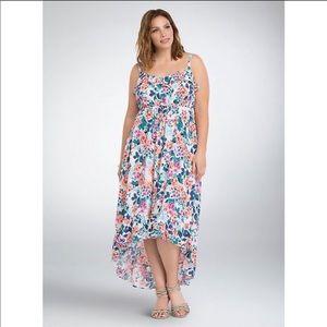 High low maxi dress 1X